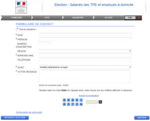 Aide personnalisée pour un vote anonyme ?!