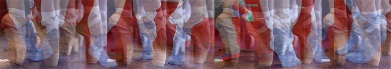 Les enfants s'initient à la danse moderne