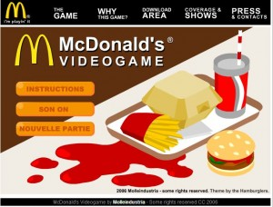 serious game fast food