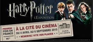 Exposition parisienne d'Harry Potter