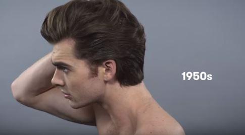 100 ans de beauté au masculin
