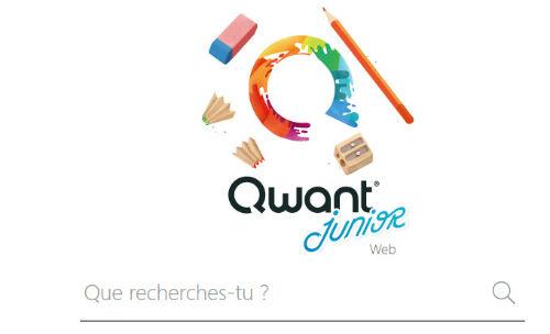 Qwant junior, un moteur de recherche pour les enfants