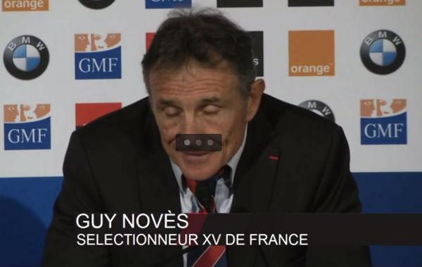 Entraineur de l'équipe de France de rugby