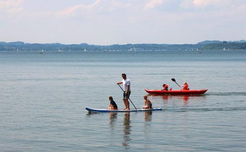 les joie du paddle