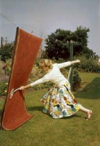 angry mum tape les tapis à défaut de faire du sport