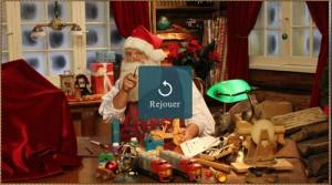 La vidéo du Père Noël