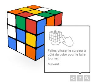 Partie de Rubik's cube ?