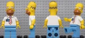 Les Simpasons sont partout, même à Legoland !
