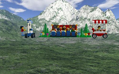 kronkiwongi, la création Lego sans notice