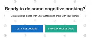 Faire la cuisine avec Watson