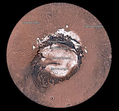 Le trek sur Mars