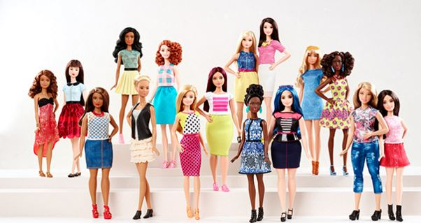 Les mensurations de la nouvelle Barbie