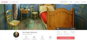 Chicago loue la chambre de Van Gogh