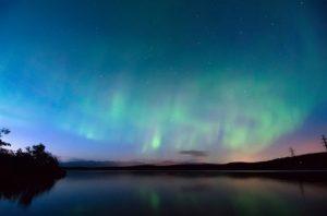 Le voyage des aurores boréales