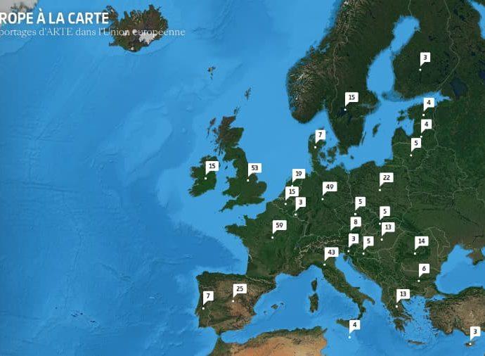 Découvrir l'Europe par ses actualités par pays