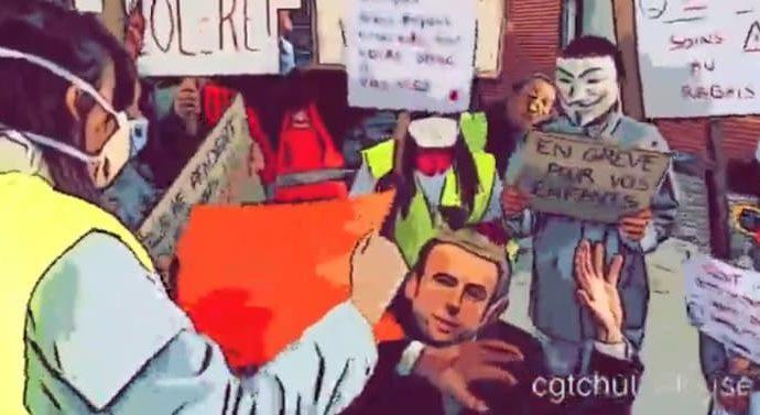Solidarité avec les manifestants de la Salpétrière