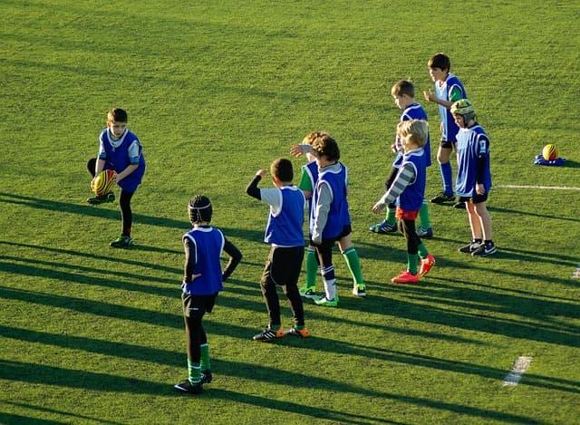 rugby et enfants