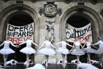 Opéra Garnier en grève