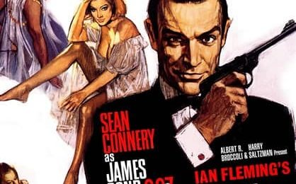 Affiche de film James Bond