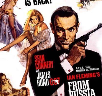 Affiche de film James Bond